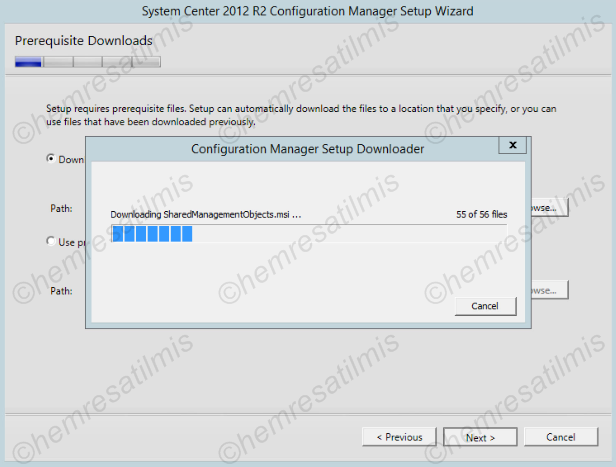2.4.-09 System Center Configuration Manager Kurulumu