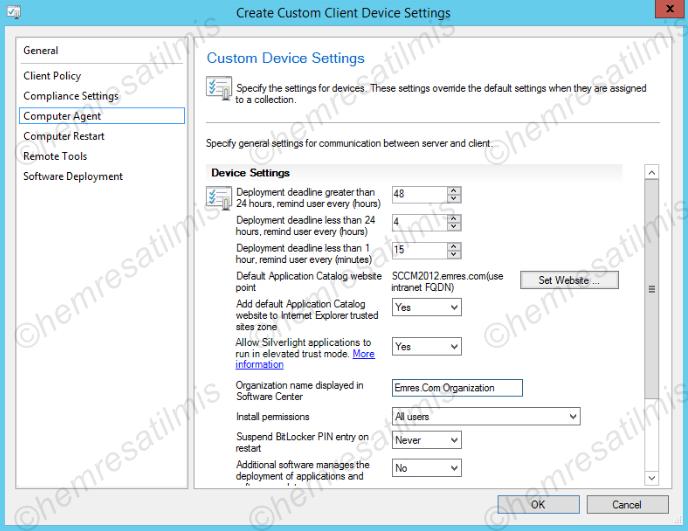 3.4.1.-05 Custom Client Device Settings Oluşturmak