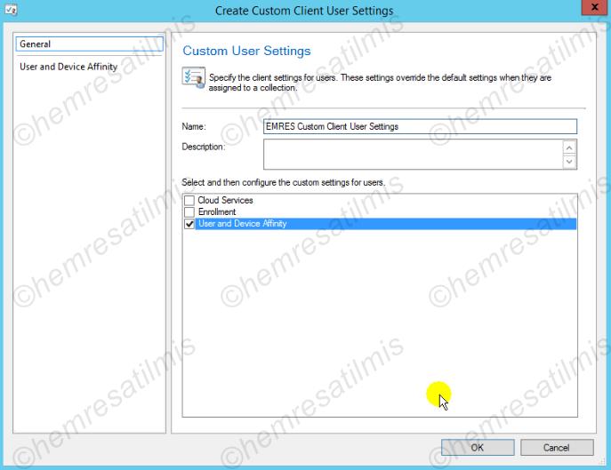 3.4.2.-02 Custom Client User Settings Oluşturmak