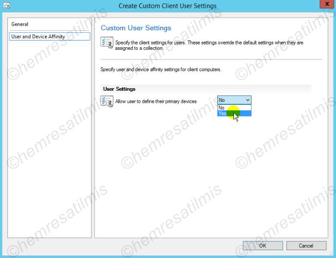 3.4.2.-03 Custom Client User Settings Oluşturmak