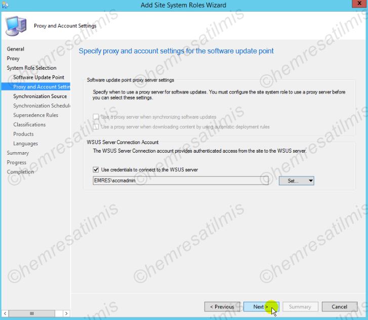 4.-04 SCCM 2012'de Yazılım Güncelleme Dağıtımı (Software Update Deployment)