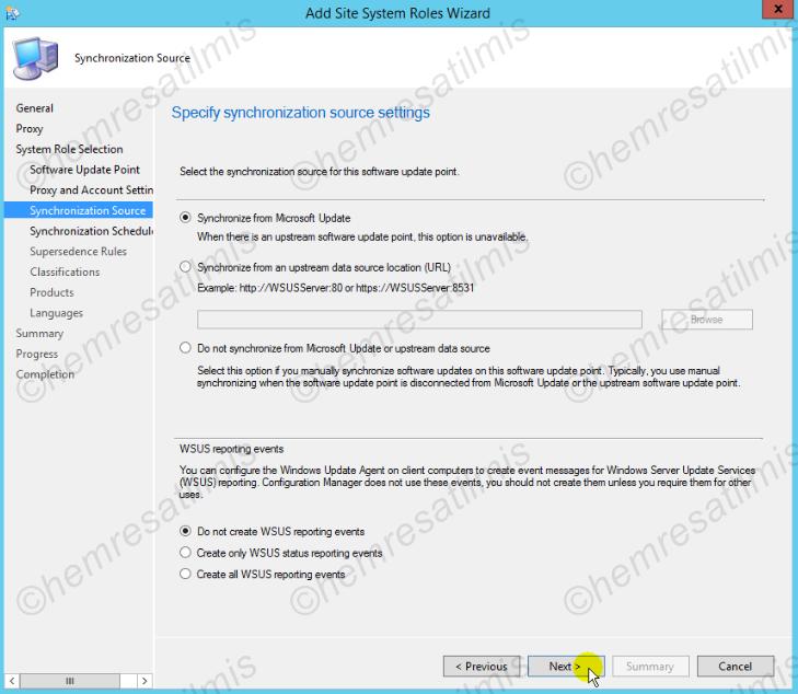 4.-05 SCCM 2012'de Yazılım Güncelleme Dağıtımı (Software Update Deployment)