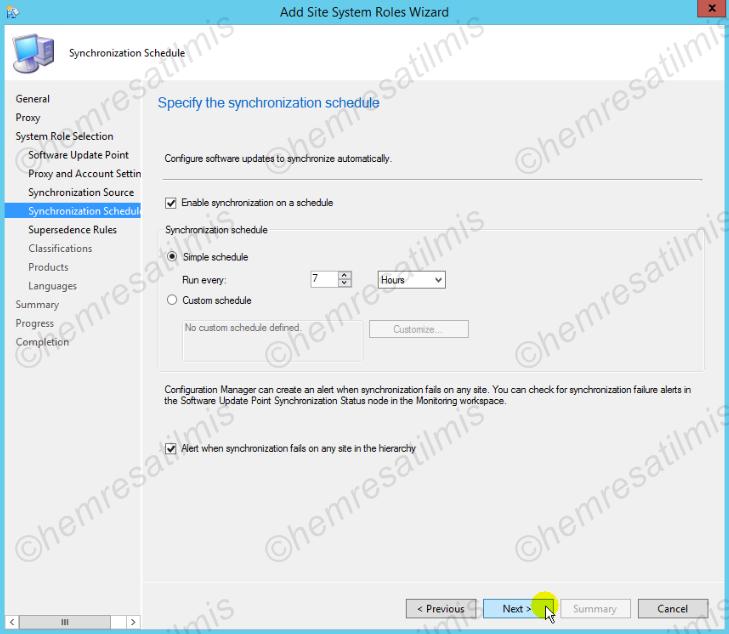 4.-06 SCCM 2012'de Yazılım Güncelleme Dağıtımı (Software Update Deployment)