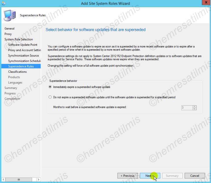 4.-07 SCCM 2012'de Yazılım Güncelleme Dağıtımı (Software Update Deployment)