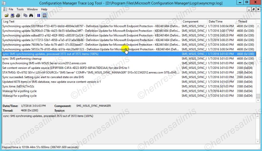 4.-13 SCCM 2012'de Yazılım Güncelleme Dağıtımı (Software Update Deployment)
