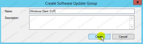 4.-15 SCCM 2012'de Yazılım Güncelleme Dağıtımı (Software Update Deployment)