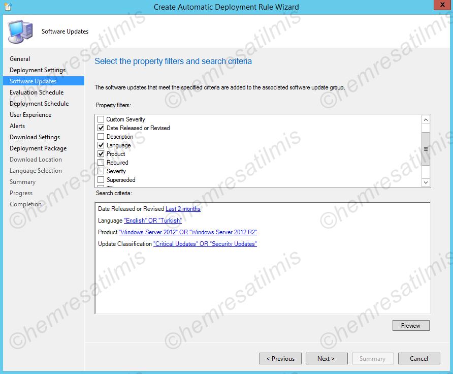 4.-32 SCCM 2012'de Yazılım Güncelleme Dağıtımı (Software Update Deployment)