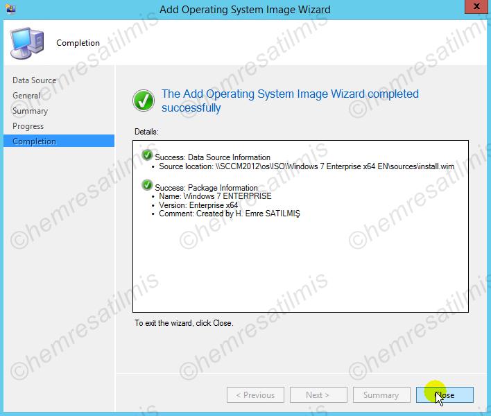 6.4. -04 Boot Edilecek Image Dosyasının Oluşturulması