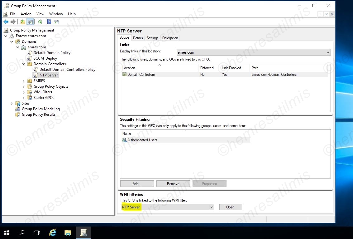 Active Directory Zaman Senkronizasyonu-05