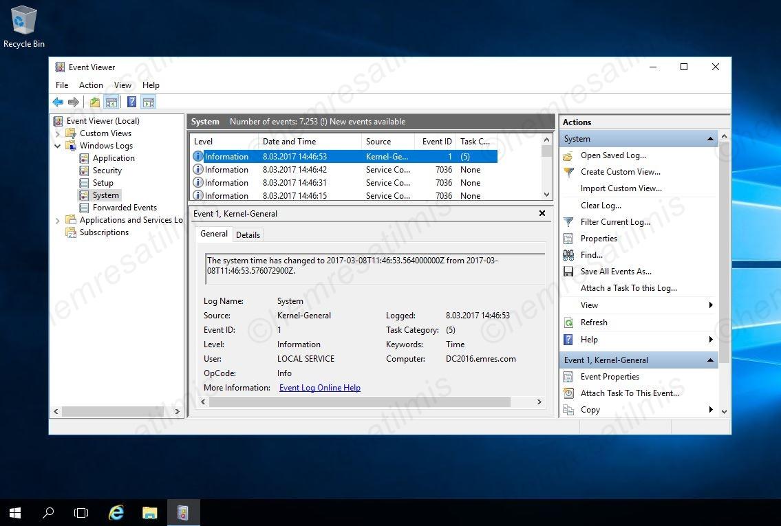Active Directory Zaman Senkronizasyonu-11