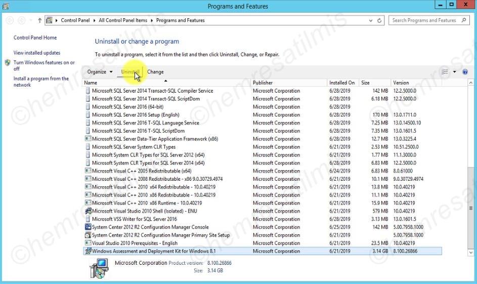 SCCM 2012 R2 to 1802 - 33