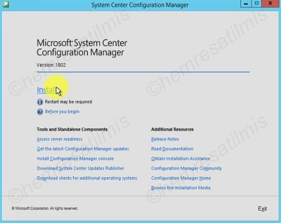 SCCM 2012 R2 to 1802 - 45