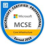 MCSE - Core Infrastructure