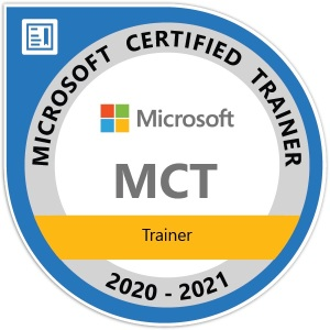 MCT - Microsoft Certified Trainer